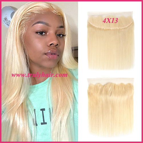 4x13 color 613 frontal natural straight