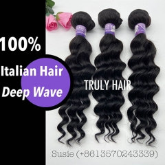10A 100% Italian hair deep wave 1 pc