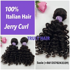 10A 100% Italian hair Jerry curl 1 pc