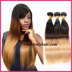 Color 1B/4/27 hair natural straight