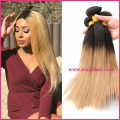 Color 1B/27 hair natural straight