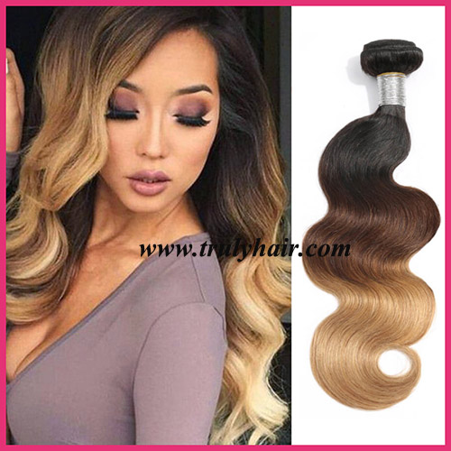 Color 1B/4/27 hair body wave
