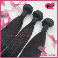 100% Virgin hair 10A quality hair natural straight 1 pc