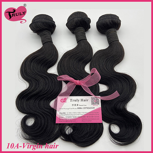 100% Virgin hair 10A quality hair body wave 1 pc