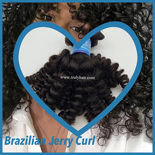 50% off 10A Brazilian remy hair Jerry curl 1 pc