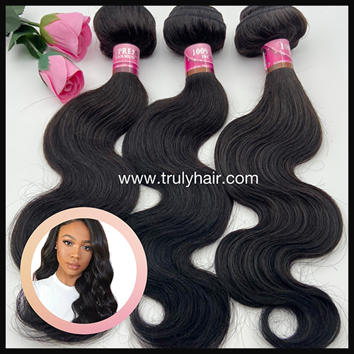 10A 100% indian hair body wave 1 pc