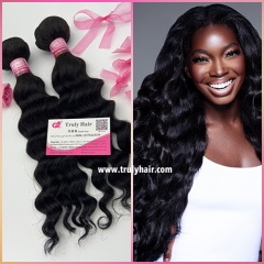 10A 100% indian hair deep wave 1 pc