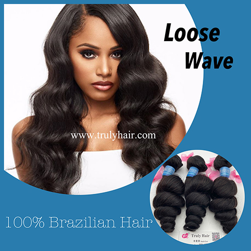 50% off 10A Brazilian hair loose wave 1 pc