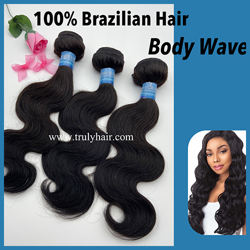 50% off 10A 100% Brazilian hair body wave 1 pc
