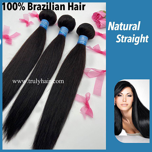 50% off 10A virgin Brazilian hair bundle straight hair 1 pc