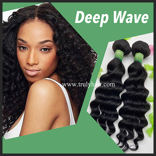10A 100% Peruvian hair deep wave 1 pc