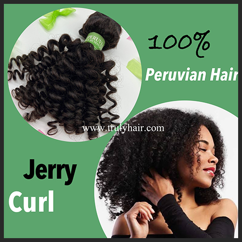 10A 100% Peruvian hair Jerry curl 1 pc