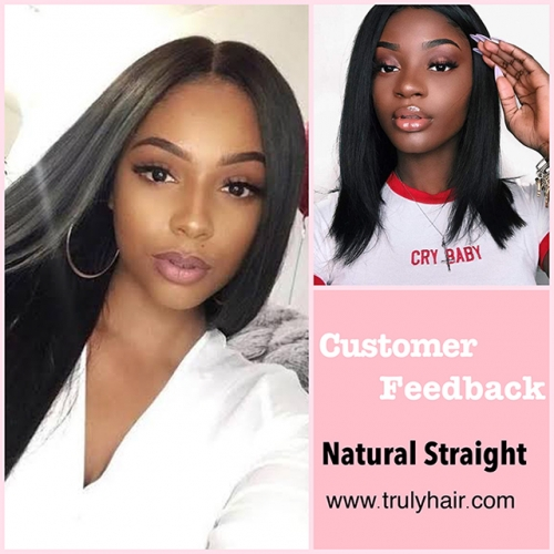 50% off Cambodian hair natural straight