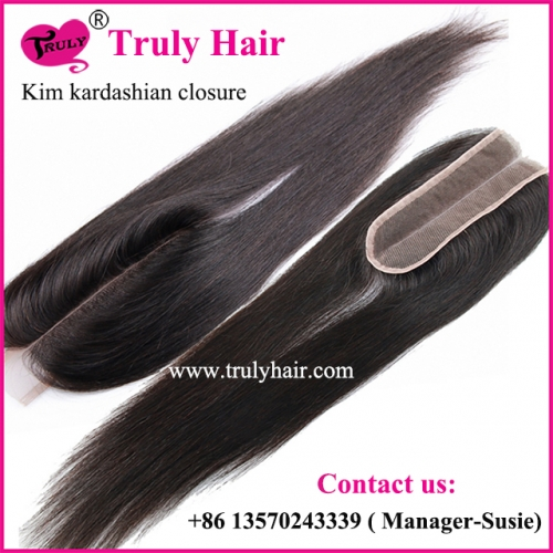Kim closure Kim kardashian closure 2X6 closure natural straight