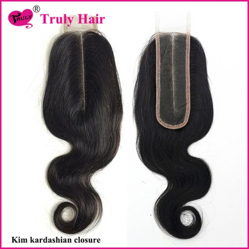 Body wave Kim kardashian closure 2X6 closure