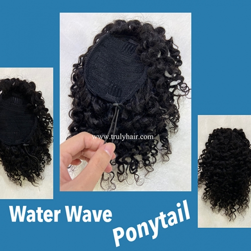 New arrival water wave ponytail