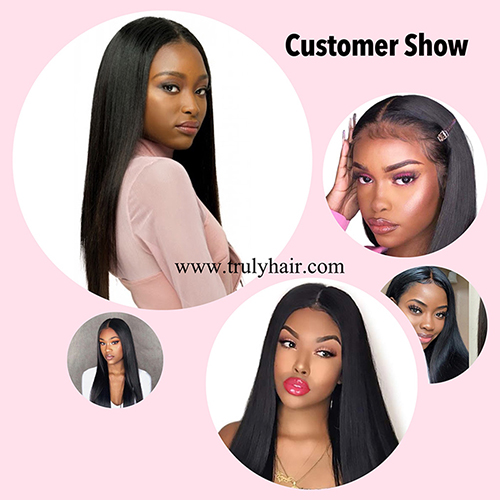 50% off lace front wig natural straight natural color