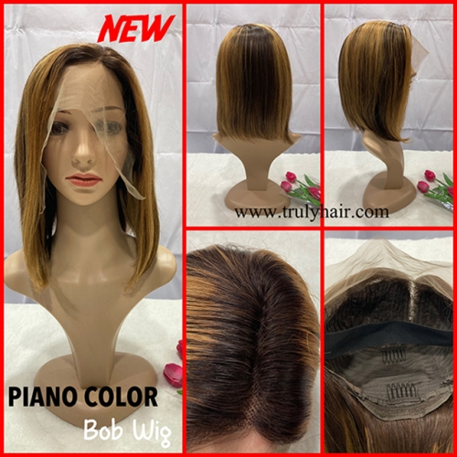 High quality piano color bob wig