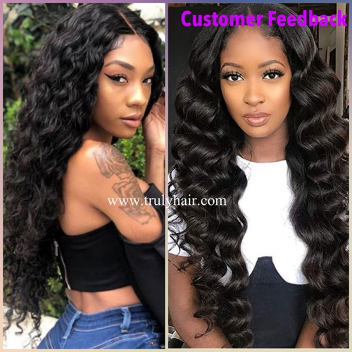 Special ! 12A hair 3 bundles Deep wave + free hair 10A 3 bundles