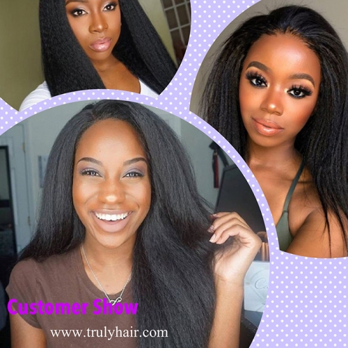 Special ! 12A hair 3 bundles Kinky straight + free hair 10A 3 bundles