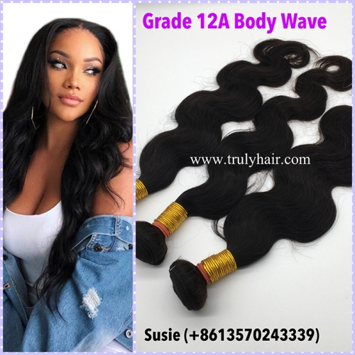 Special ! 12A hair 3 bundles Body wave + free hair 10A 3 bundles