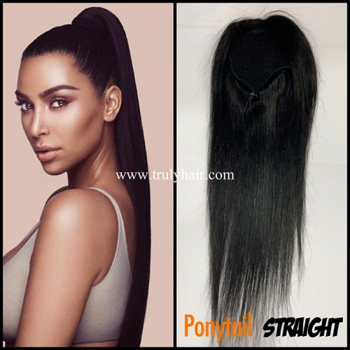 50% off human hair ponytail