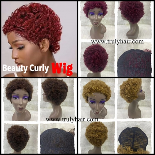 Beauty curly wig
