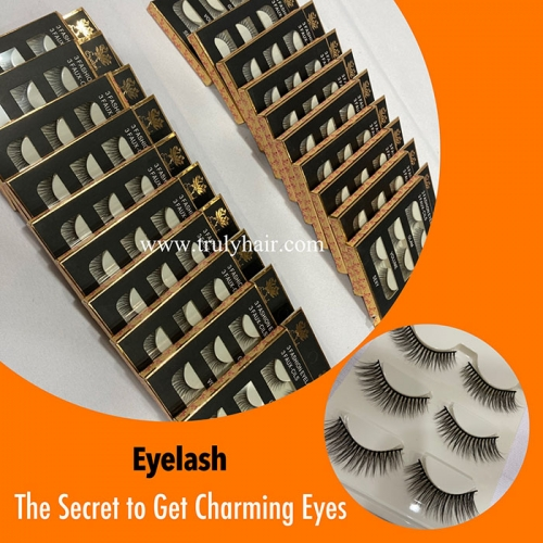 Wholesale eyelash 3 pairs in one package