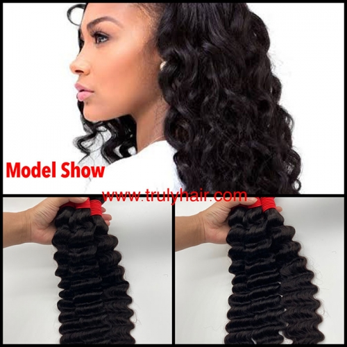 12A virgin hair deep wave/loose deep human hair curly hair