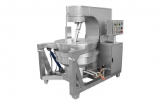 AUTOMATIC MULTI-AGITATORS COOKING MIXER --GAS HEATING,INDUCTION HEATING
