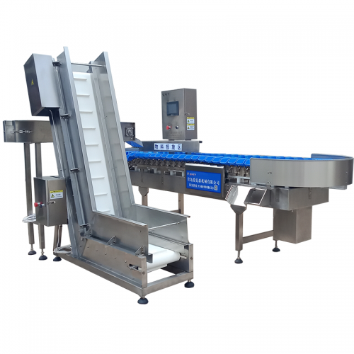 Tray type Weight sorting Machine