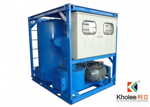 Vacuum Recovery Machine for Blasting Room