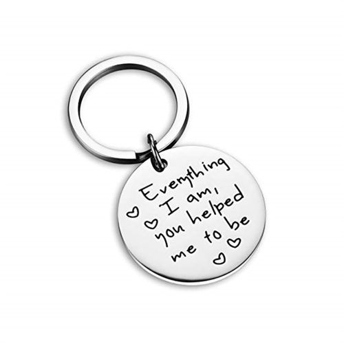 Birthday Gifts for Mom From Daughter Or Son Mothers Gifts Inspirational Keychain