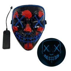 Halloween Mask LED Light up Mask for Festival Cosplay  Costume Masquerade Parties