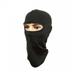 Ski Mask Balaclava Hood Beanies Outdoor Sports Cycling Hat(Black)