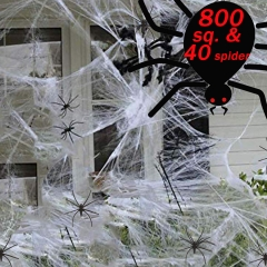 800 sqft Spider Web Cobwebs Decorations