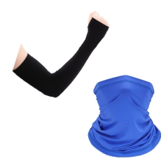 Thin Ski Face Mask and Arm Sleeves for Men&Women