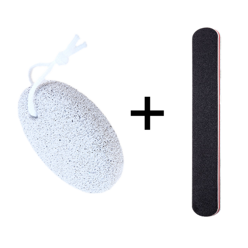 Nail File and Pumice Stone for Feet