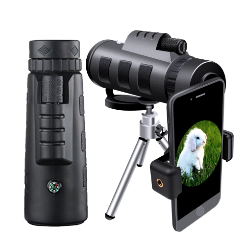 40X60 High Power HD Telescope with Smartphone Tripod & Holder