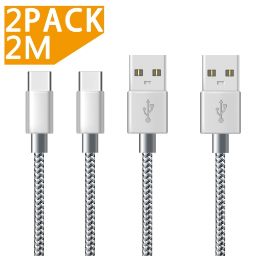 Type C Cable [2 Pack 2M]