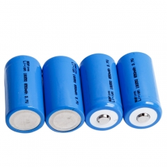 4pcs 18350 Batteries Button top 850mAh
