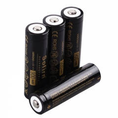 4pcs 14500 Batteries 900mAh