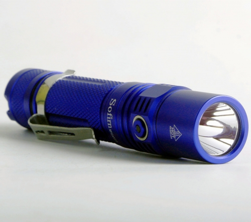 SP32A V2.0 Flashlight 1300 Lumens Blue
