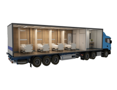 Modular Mobile medical station