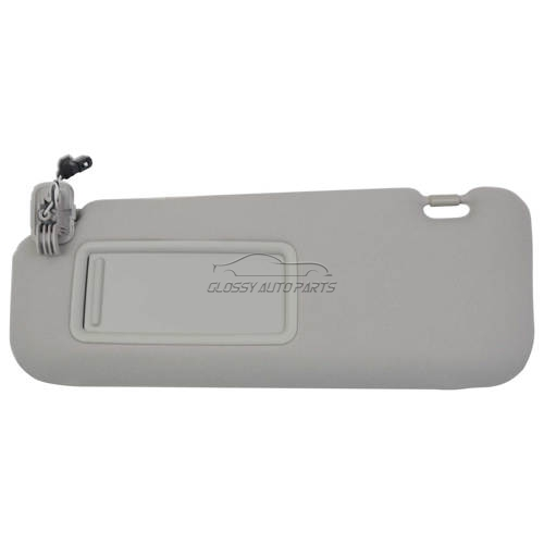 Left Driver Side Gray Sun Visor for Mazda CX-9 2010-2015 4-Door V6 DOHC TDY1-69-320 TDY169320