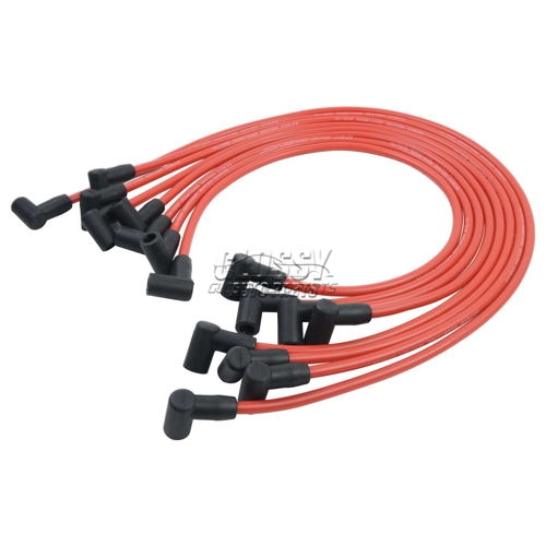 Spark Plug Wire Ignition Cable For Chevrolet SBC 283 305 307 327 350 400 Red 8mm