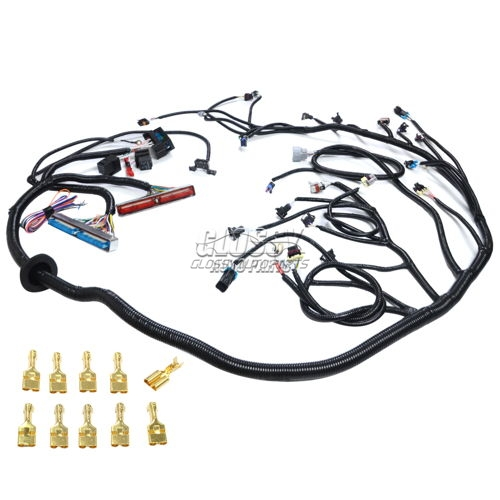 Standalone Wiring Harness For Chevrolet Corvettes 4.8 5.3 6.0 Truck LS Swap Vortec 1999-2003 4L60E Transmissions