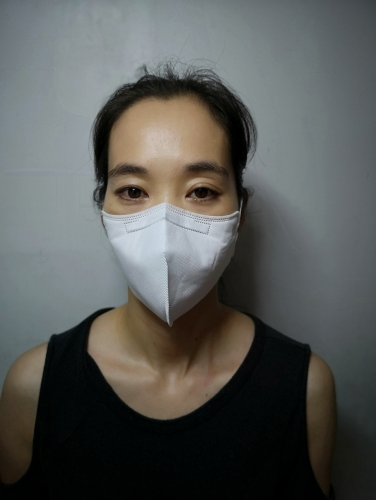 Greencare Adult KN95 Disposable Fold Flat Face Mask(6PCS/BOX)Free ship by USPS&UPS&FEDEX