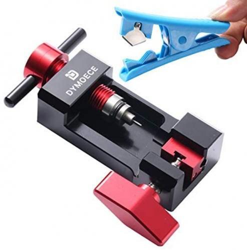Cycling Tubeless Sealant Injector Syringe Hose /& Valve Core Removal Tool Set