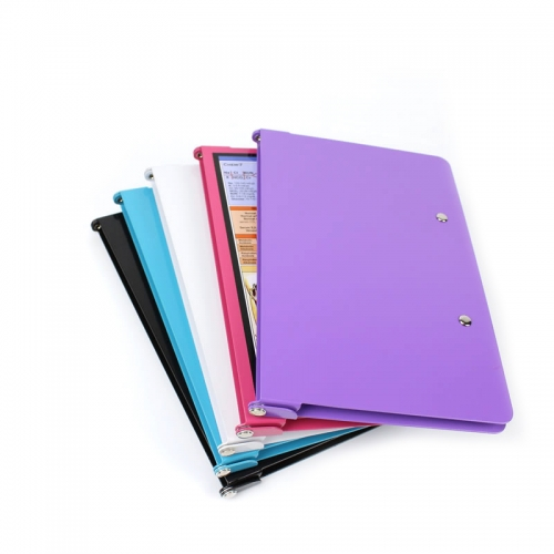A4 medical folding file folder plate pure aluminum alloy folding medical folder aluminum folder